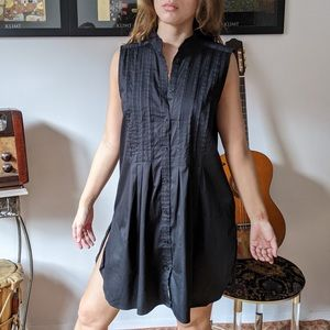 Vintage Zara black dress